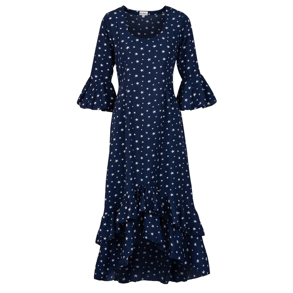 Victoria Dress- Navy Star AH47
