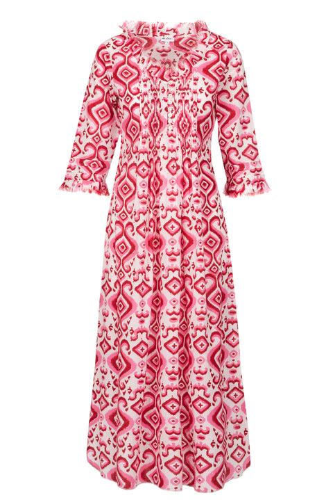 (COMING SOON) Annabel Maxi Dress - Pink Ikat 2019-120