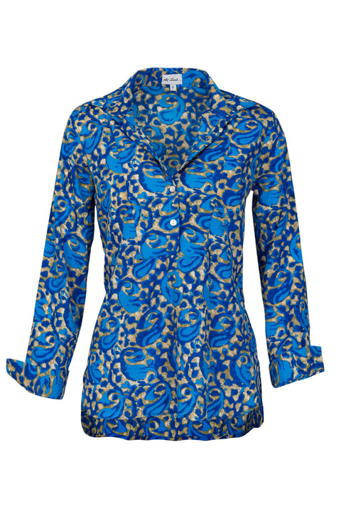 Soho Shirt with Back Detail - Royal Blue