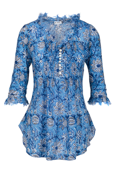 Sophie Cotton shirt - Sky