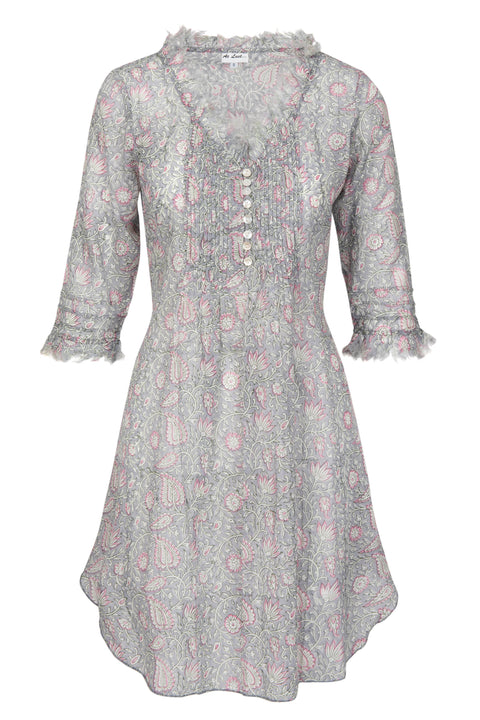 Annabel Cotton Tunic - Dove