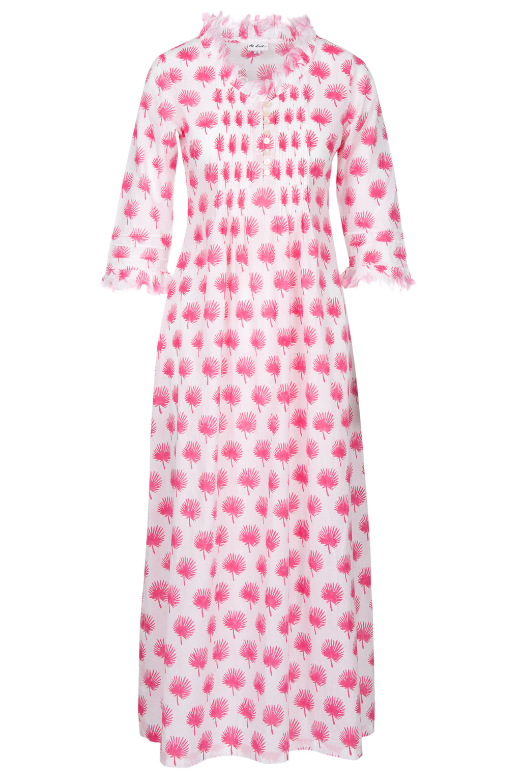 Annabel Maxi Dress - Pink Palm