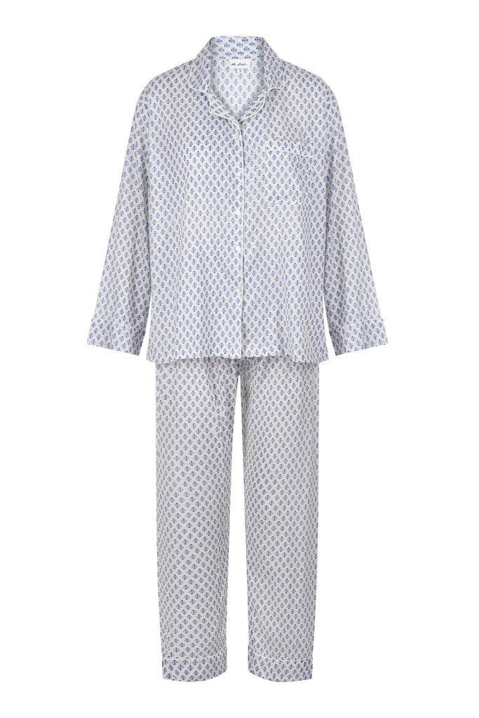 Susie Pj's - Blue and White