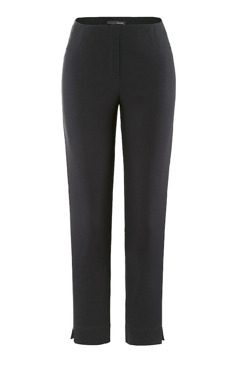 'Stehmann' Stretchy Trouser- Black
