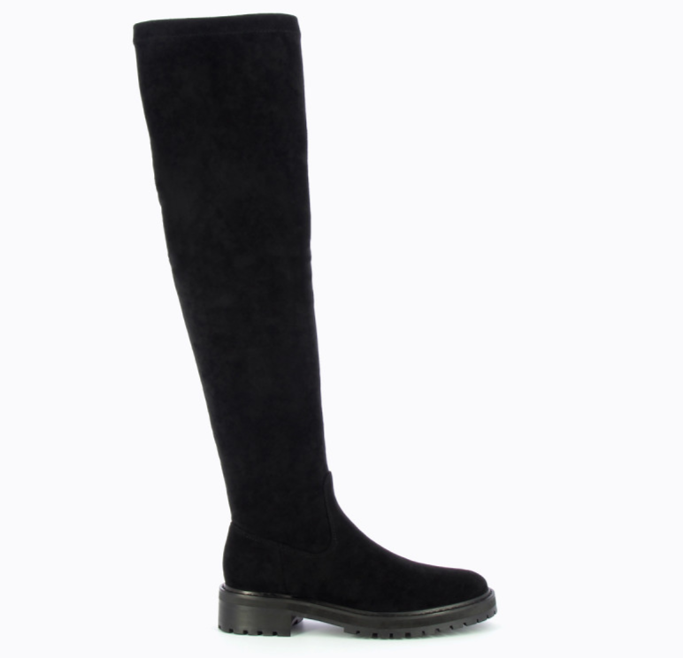 Over the Knee Boots- black by 'Vanessa Wu'