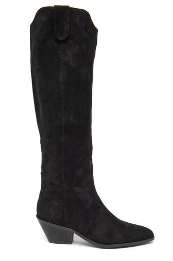 Vegan cowboy boots- black by 'Vanessa Wu'