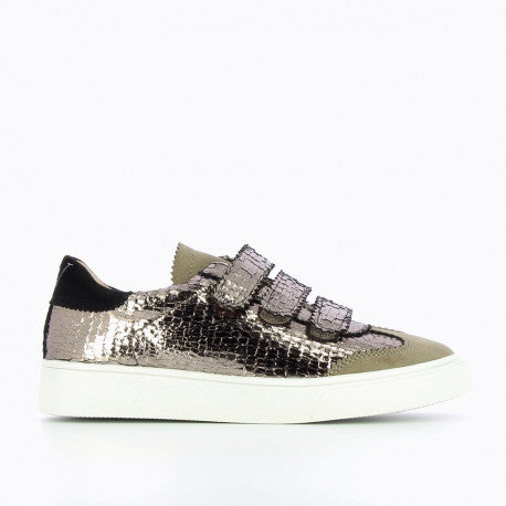 "Anthracite Crackle Trainer by ""Vanessa Wu'"