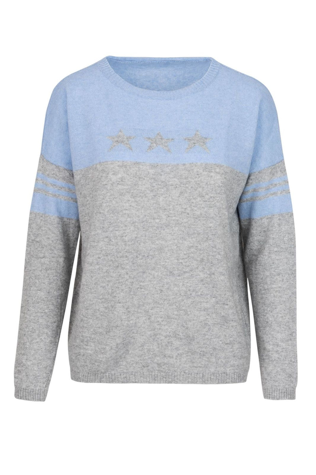 Cashmere Sweater- Blue Star