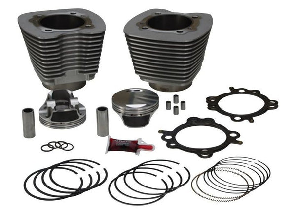 RevTech Twin Cam 106 Big Bore Kit Natural Finish