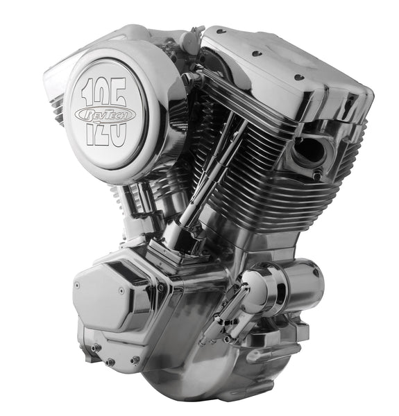 RevTech 125 Polished & Chrome Motor
