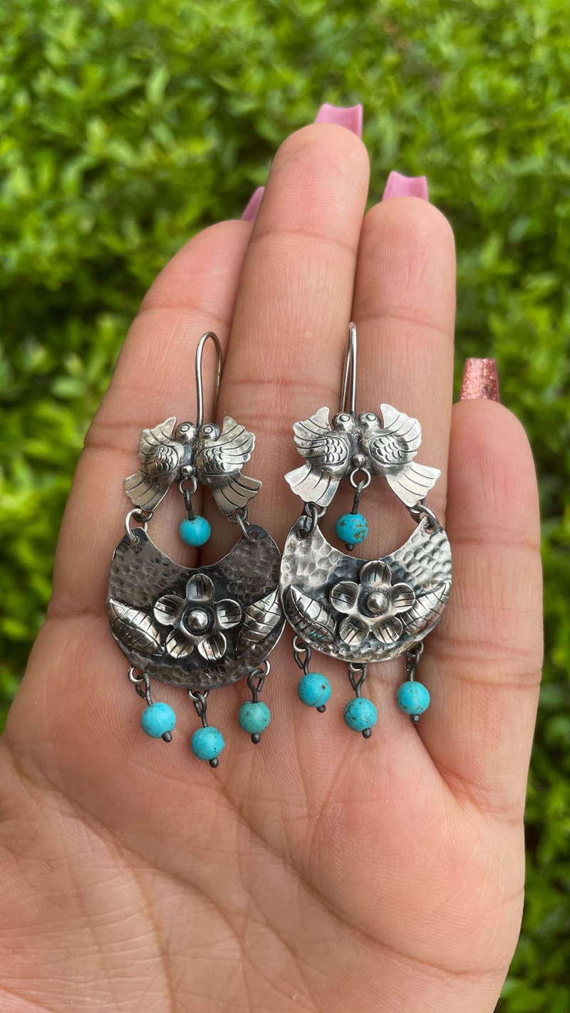 Mexican Dove Earrings