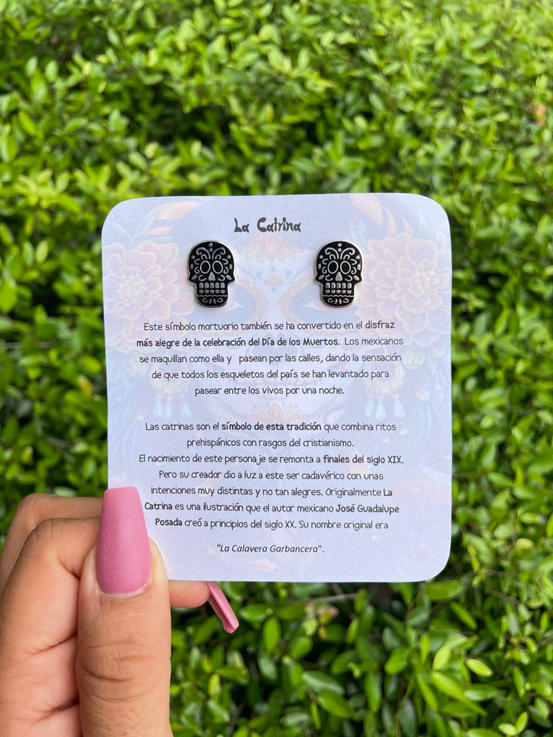 La catrina earrings