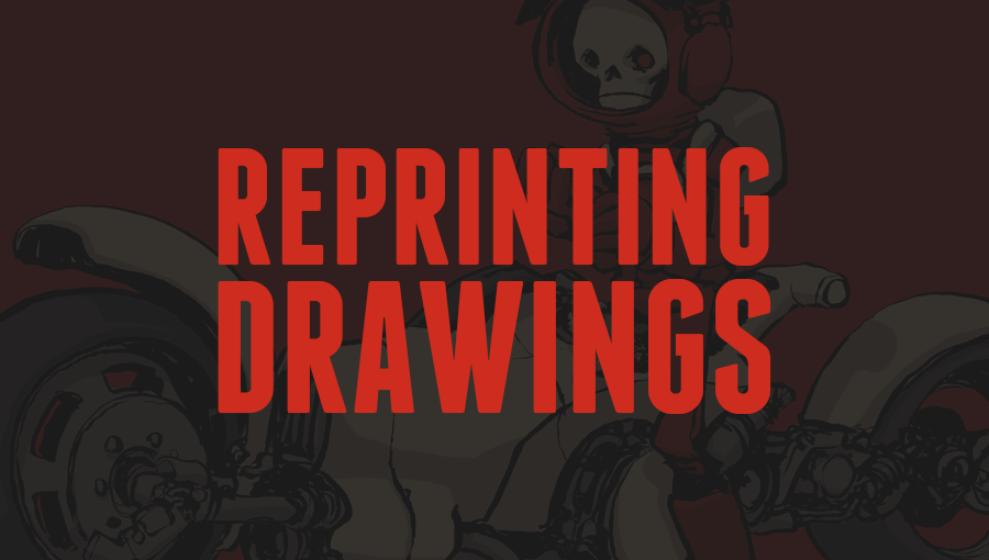 Reprinting DRAWINGS