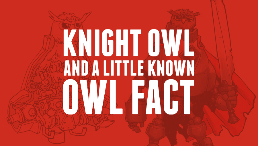 Knight Owl and a little known OWL FACT