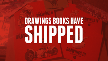 DRAWINGS Books Have Shipped!