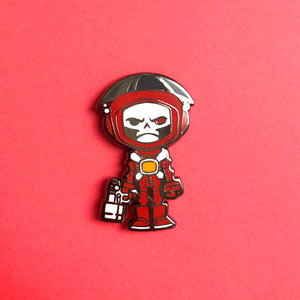 Pin 002 - Skull Chaser Space Punk