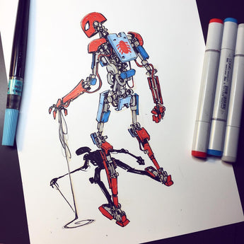 Spider-Mech - Original Art
