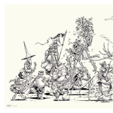 Travelers of the Five Kingdoms Limited Edition Fine Art Print