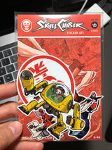 Sticker Set 002 - Skull Chaser