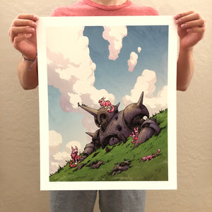 The Shelter Print