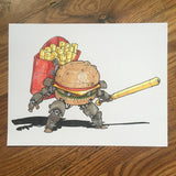 BURGER_BOT - Original Art