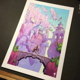SkyHeart Bridge Print