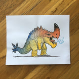 Kaiju - Original Art