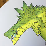 Kaiju 02 - Original Art