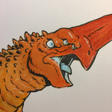 Kaiju 03 - Original Art