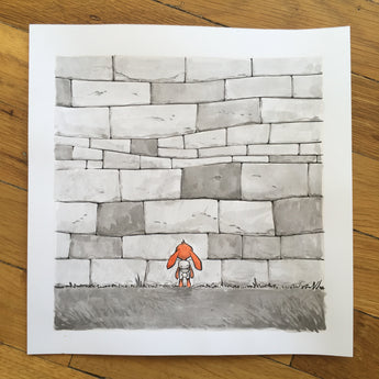 The Wall - Original Art