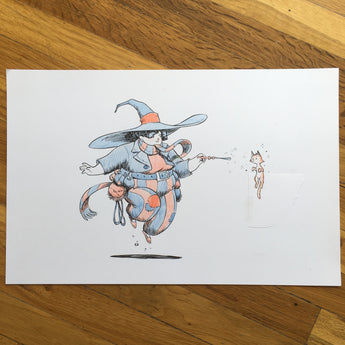 Cat Witch - Original Art