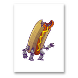HOT-DOG-BOT Print