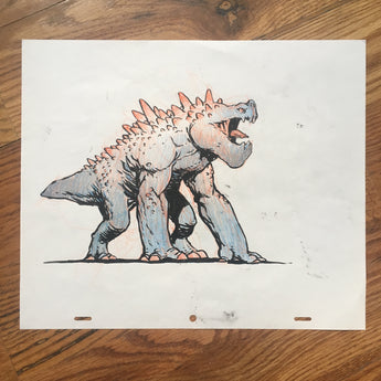 Kaiju 04 - Original Art