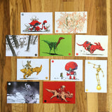 Art Postcard Set