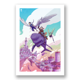 SkyHeart Flight Print