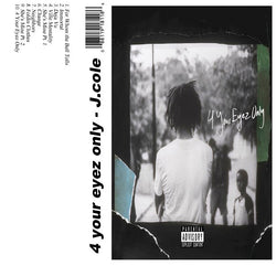 4 Your Eyez Only - J.cole - The Cassette Corner - Music for inmates