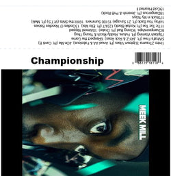 Meek Mill - Championship - The Cassette Corner - Music for inmates
