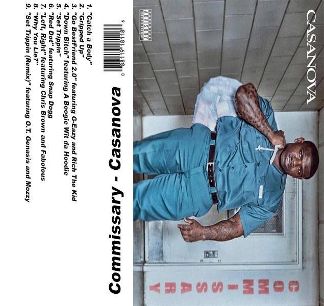 Casanova - Commissary - The Cassette Corner - Music for inmates