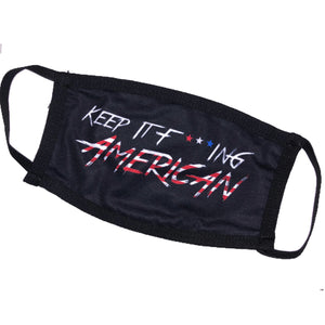 Keep It F***ing American Mask