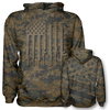 We The People Woodland Camo Hoodie