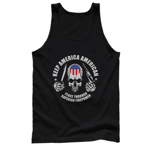 Keep America American - USA Logo (Tank Top)