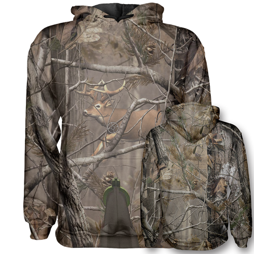 Unreal Tree Big Buck Hoodie