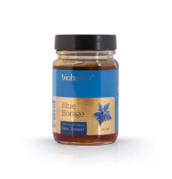 Blue Borage honey (glass jar, 100 ml.)