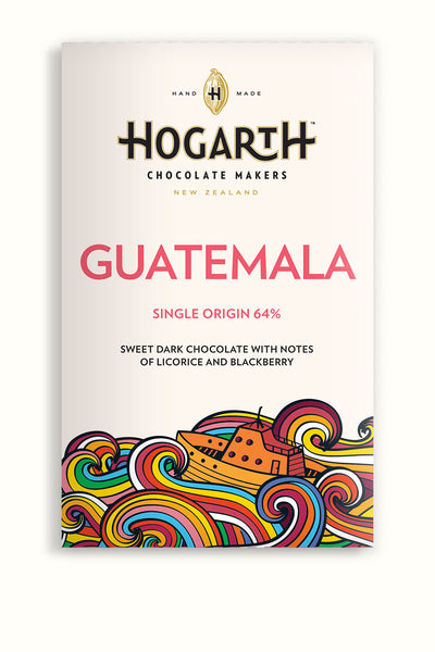 Hogarth Guatemala 64% Sweet Dark Chocolate Bar