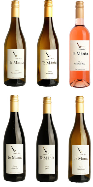 Te Mānia Cellar Club Joining Sampler Pack