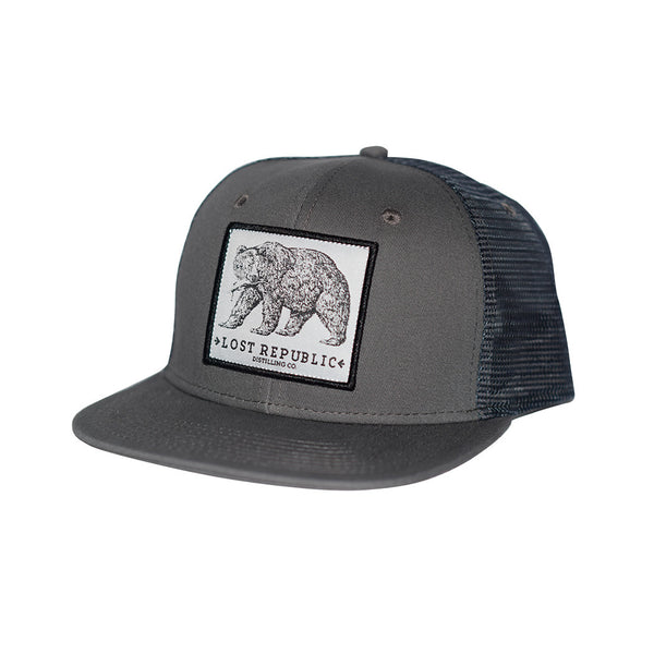 LR Bear Patch Trucker