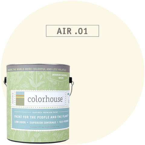 Air .01 Interior Paint, Paint, Colorhouse, Design Lad Living