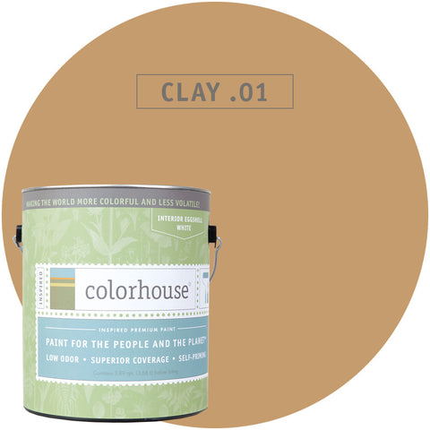 Clay .01 Interior Paint, Paint, Colorhouse, Design Lad Living