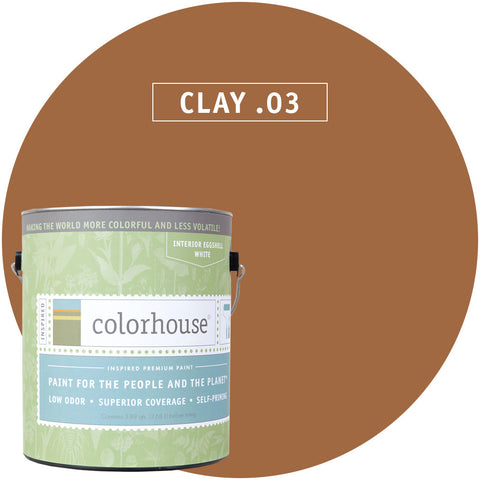 Clay .03 Interior Paint, Paint, Colorhouse, Design Lad Living