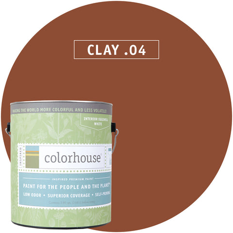 Clay .04 Interior Paint, Paint, Colorhouse, Design Lad Living